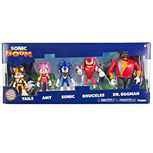 Sonic The Hedgehog Multipack Collectable Toys Sonic Boom