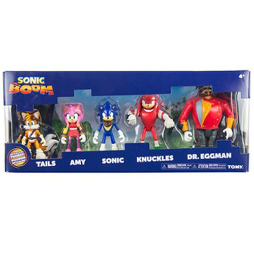 Sonic Boom T22068A1 Multi Spielfigur Pack (Boom Sonic Amy)