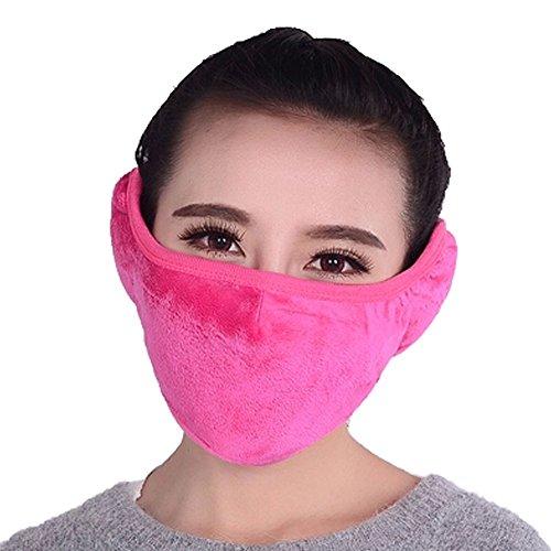 Frauen-Winddichtes Kaltbeweis warme Ohren Mund Gesichtsmaske, (Zum Verkauf Gasmasken Coole)