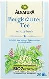Alnatura Bio Bergkräuter Tee, 20 Beutel, 35 g