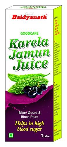 Baidyanath Karela Jamun Juice – Helps Maintain Healthy Sugar Levels – 1L