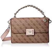 Guess Womens Handbag, Brown Multi - SG766818
