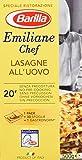 Barilla Pasta Nudeln Emiliane Chef Lasagne all' Uovo, 6er Pack (6 x 500 g)
