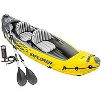 Intex Explorer K2 Two-Person Kayak with Oars + Pump