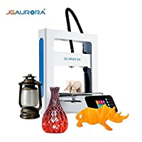 JGAURORA A3S 3D Printer Kit DIY 2.8 Inch Colorful Touch Screen Full-metal Frame with 16GB USB Stick