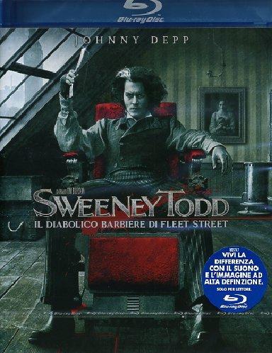 Sweeney Todd - Il diabolico barbiere di Fleet Street [Blu-ray] [IT Import]
