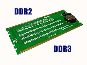 KALEA-INFORMATIQUE © - TESTEUR POUR PORT MEMOIRE - SLOT DDR DDR2 DDR3