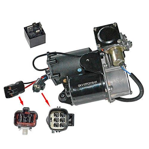 Luftfederung Kompressor und Relais LR072537 -