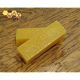 Wax Factory Branded Beeswax Blocks -1 Kilogram - Candles/Cosmetics/Polishes