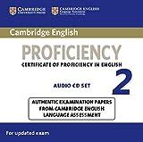 Cambridge English Proficiency 2 for updated exam: 2 Audio CDs
