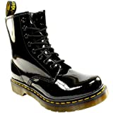 Dr. Martens Damen 1460 Paten Boots, Schwarz (Black), 39