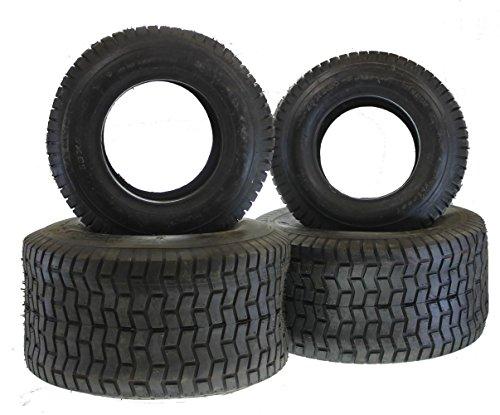 Reifen Set 2X 20x10-8 und 2X 16x6.5-8 schlauchlos TL Rasentraktor Aufsitzmäher Rasenmäherbulldog