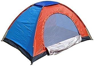 6 Person Camping Tent (Multicolor)