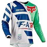 Maillot Motocross Enfant Fox 2018 180 Sayak Vert (L Enfant , Vert)