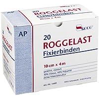 ROGGELAST Fixierbinden 10 cmx4 m ohne Cellophan 20 St Binden preisvergleich bei billige-tabletten.eu