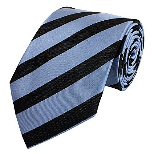 Fabio Farini Cravate en bleu noir