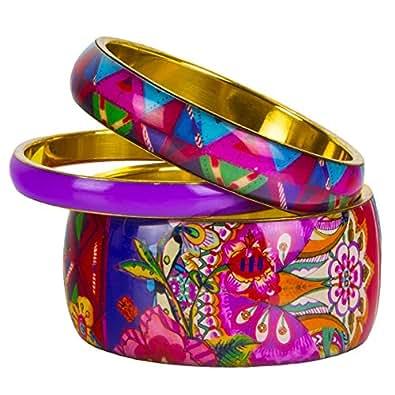Bracelet Desigual Pack 3 Royal Lilac 57g55k9
