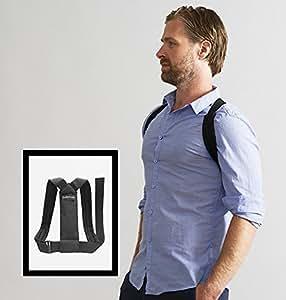 SWEDISH POSTURE® FLEXI Geradehalter Rückentrainer für Büro und Freizeit | gegen Rückenschmerzen | für Muskelaufbau | weniger Verspannungen | mehr Selbstbewusstsein | inkl. Erklärvideo