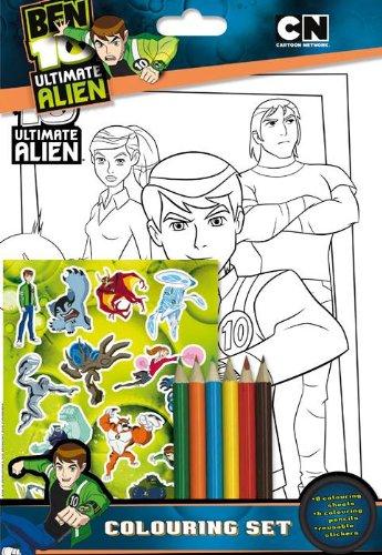 Alligator Books-alli1407btcs2-Freizeit Kreative-Ben 10-Servietten, Alligator Serviette