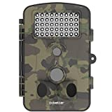 24-Inch-12-Megapixel-12-MP-1080P-HD-120-degree-Wide-Angle-IP54-Waterproof-Hunting-Wildlife-Trail-Game-Camera-Surveillance-Camera-with-42-Pcs-IR-LEDs-for-Night-Vision-Camo-Green