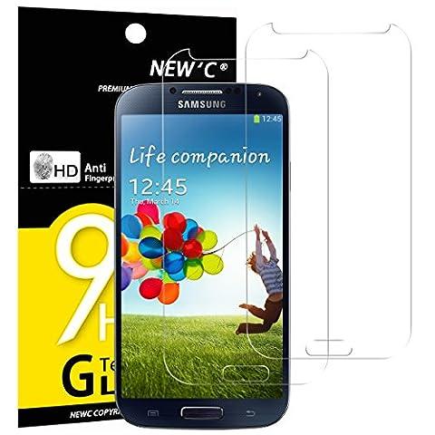 Film En Verre Trempe Samsung S4 - 2 Pack Verre Trempé Samsung Galaxy S4,