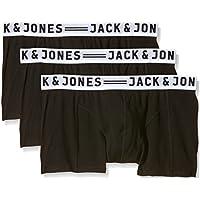 JACK & JONES Herren Boxershorts, 3er Pack
