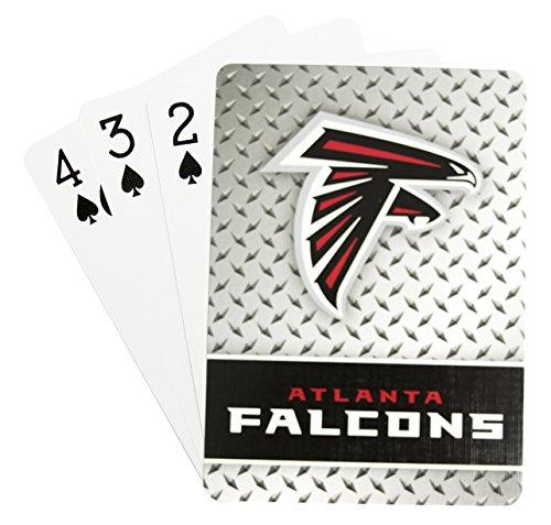 Pro Specialties Group NFL Spielkarten, Herren Damen Mädchen Unisex Jungen, Atlanta Falcons, Standard Size (Atlanta Falcons Football Karten)
