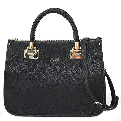 LIU JO ANNA SHOPPING BAG N66085E0011-22222 Black