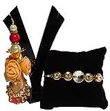 #3: Siddhi Gifts - Designer Rakhi for Bhaiya Bhabhi