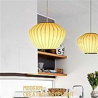 Lanterna cinese lampadario bozzolo di seta annata