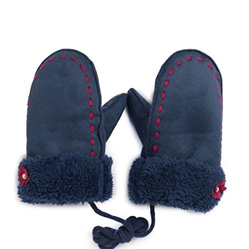 Bambini appendere i guanti/ velluto aggiunto addensare guanto/ caldo guanti per bambini-A Unica