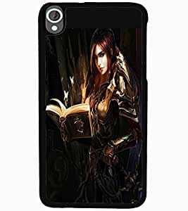 ColourCraft Beautiful Princess Design Back Case Cover for HTC DESIRE 820