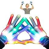 Geschenke für Teen Mädchen Jungen, 3-7 Jahre Alt Spielzeug, Top Geschenk 8-12 Jahre Alt Spielzeug LED Blinkende Handschuhe Cool Fun Geschenke GL01