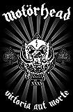 Motörhead: Victoria Aut Morte 1975-2015 Textil Poster (Zubehör)