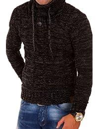 Tazzio pull en tricot col châle 3960