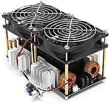 TOOGOO 1800W ZVS Modulo de placa de calentamiento por induccion Calentador de conductor flyback + Bobina