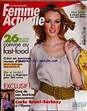 Telecharger Livres FEMME ACTUELLE No 1286 du 18 05 2009 26 RECETTES EXPRESS COMME AU FAST FOOD CREER UN NOUVEAU RESEAU D AMIS ON A TESTE 3 JOURS A MAJORQUE POUR 365 EUROS 5 DE NOS LECTRICES RENCONTRENT CARLA BRUNI SARKOZY A L ELYSEE PLUS JEUNE A CHAQUE PEAU SON SOIN LIFTING (PDF,EPUB,MOBI) gratuits en Francaise