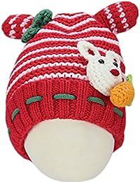 BONAMART ® Kaninchen Baby Baby Junge Mädchen Hüte Hut Wintermütze Mütze 6-24 Monate