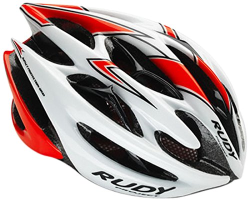 Rudy Project Sterling Casco, White/Red Fluo Shiny, S/M