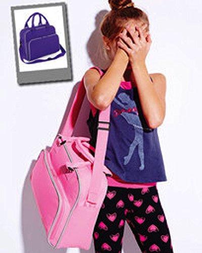 BagBase , Borsone , Nero/Rosa (Multicolore) - BG145 Classic Pink