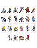 THE LEGEND OF ZELDA :22pcs NFC Tag Spielkarten ZELDA BREATH OF THE WILD FOR SWITCH/WII U Mini Card