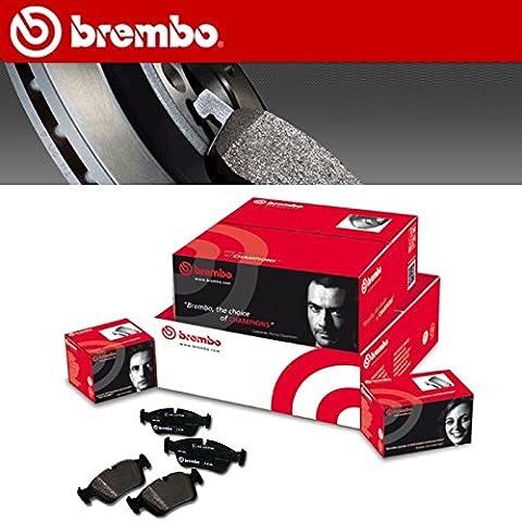 PASTIGLIE FRENO BREMBO AUDI A4 (8EC, B7) 1.8 T 120KW DAL 11.04 AL 06.08
