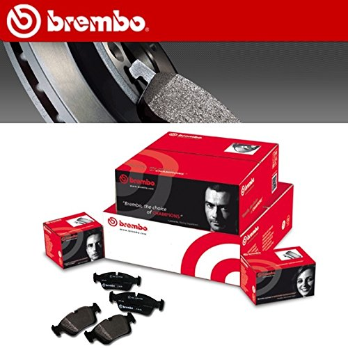 P23126 KIT 4 PASTIGLIE FRENO ORIGINALI BREMBO