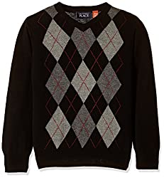 The Childrens Place Boys Sweater (207313501_Black_L (10/12))