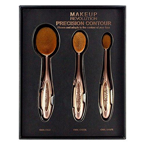 Makeup Revolution–Pro Precision Contour Set Penneli Oval