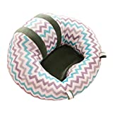 yeahibaby Sofa Stuhl Unterstützung für Babys Baby Sitzende Stuhl Classification Kissen Sitzpolster (gestreift)