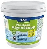 Söll 10896 PhosLock AlgenStopp - Der stärkste Phosphatbinder der Welt - 2,5 kg