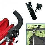 Asdomo ganci universali per passeggino passeggino clip ganci shopping bag passeggino Holder