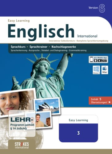 Strokes Easy Learning Englisch 3 Version 6.0