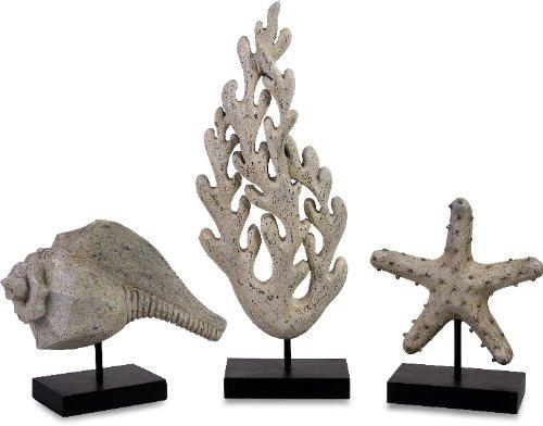 imax-13427-3-seaside-series-statuary-set-of-3